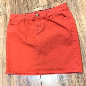 🛍🛍 Tommy Hilfiger Jean mini skirt size 4